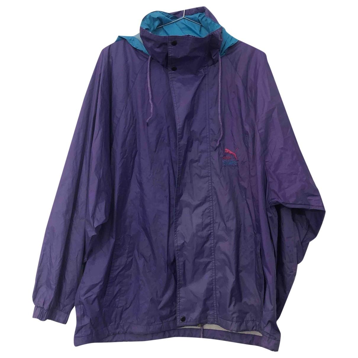 Puma \N Purple coat  for Men M International