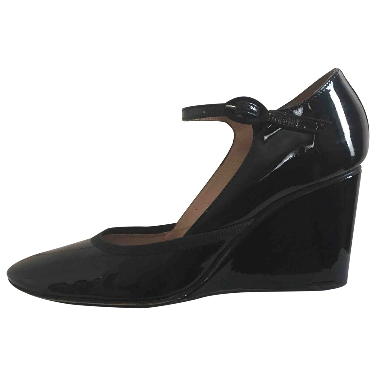 Repetto \N Black Patent leather Heels for Women 40 EU