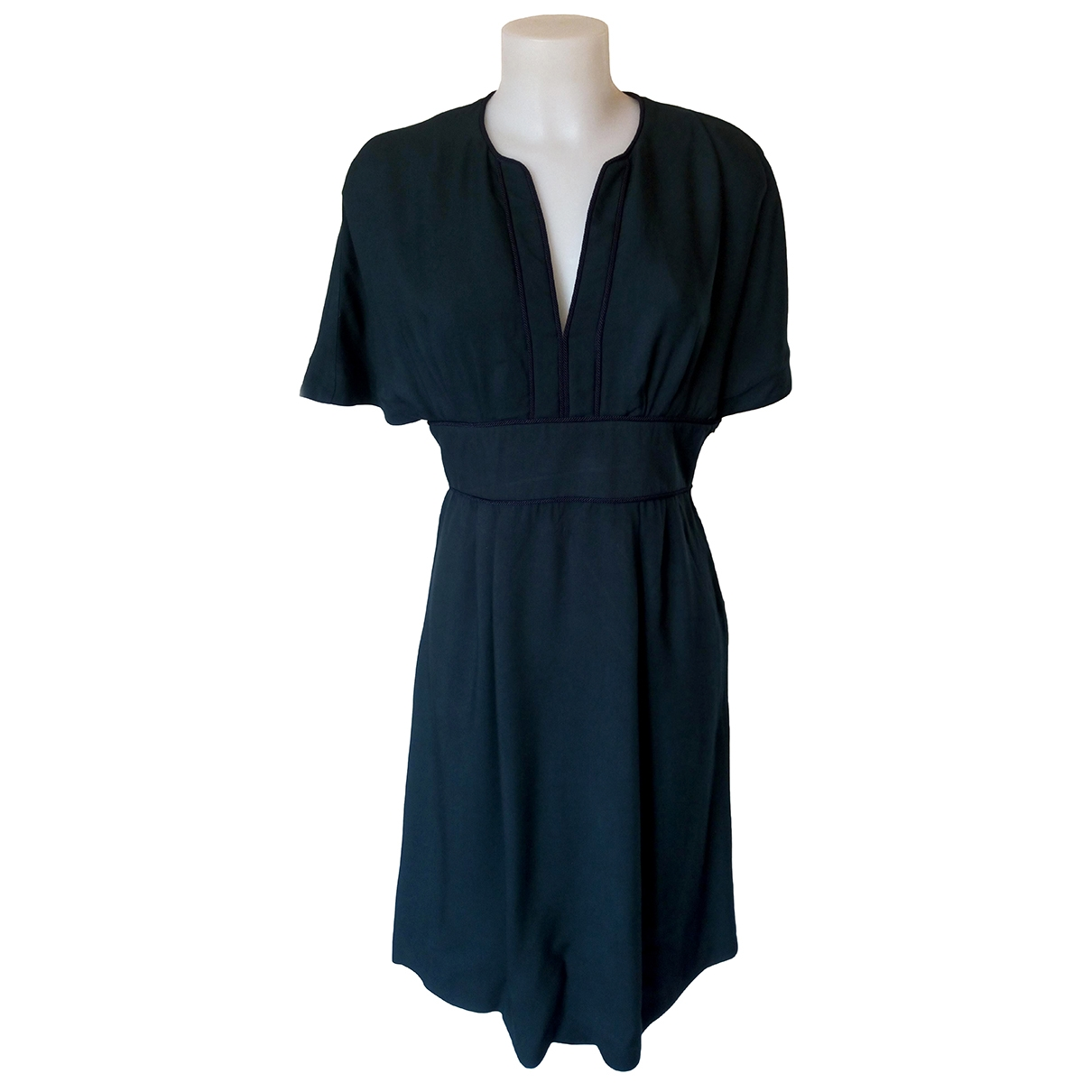 Tara Jarmon \N Kleid in  Gruen Viskose