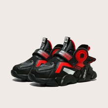 Boys Chinese Letter Graphic Chunky Sneakers