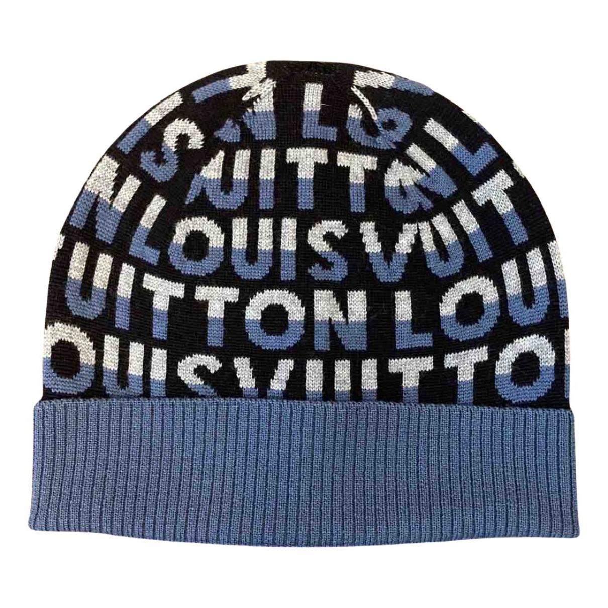 Louis Vuitton - Chapeau & Bonnets   pour homme en laine - multicolore