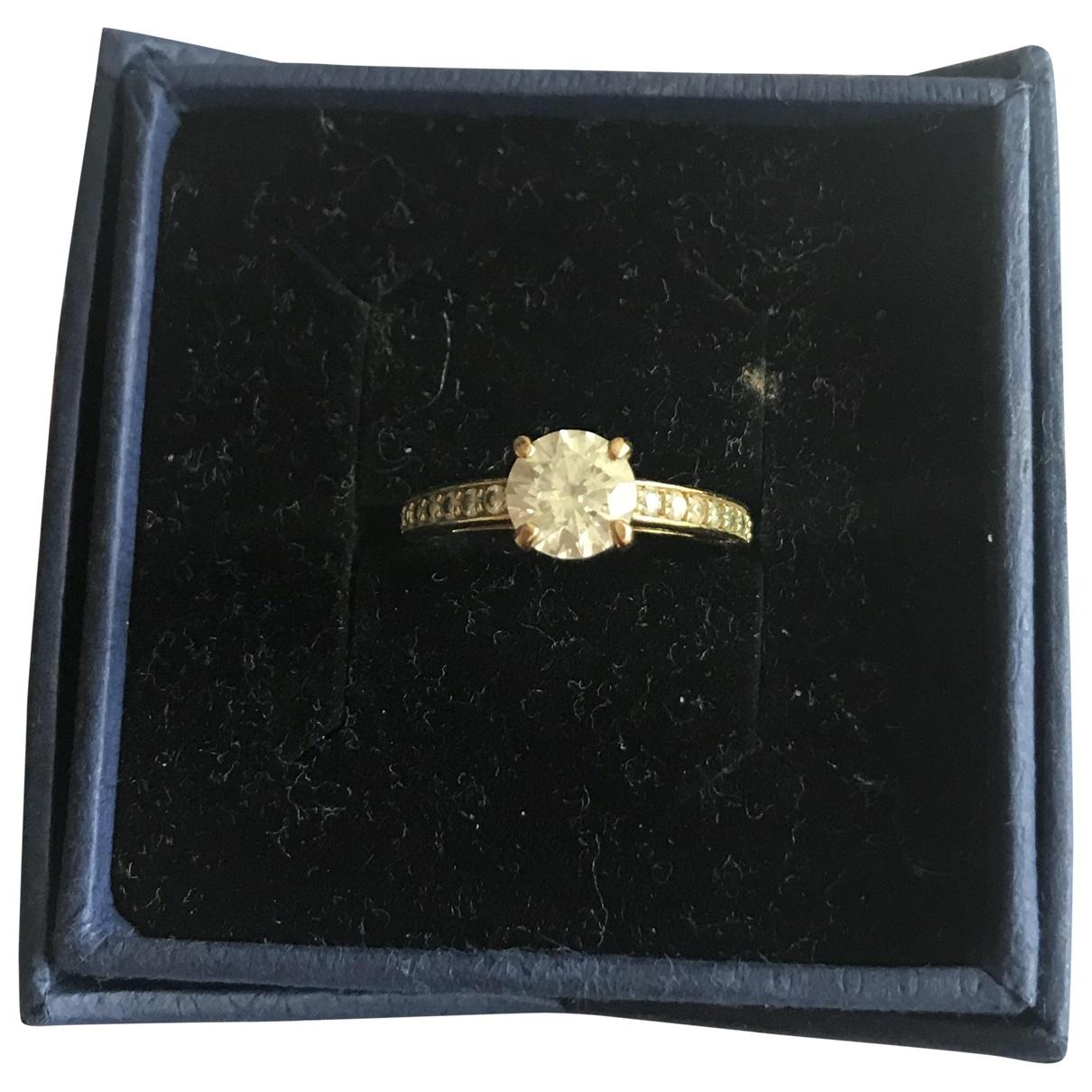 Swarovski - Bague Fit pour femme en or jaune