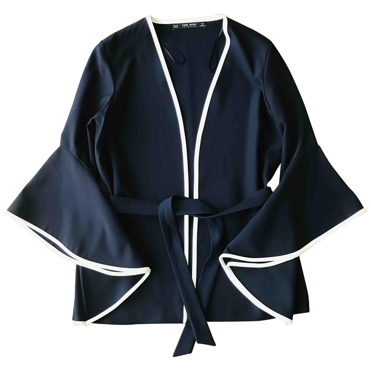 Zara \N Navy jacket for Women XS International