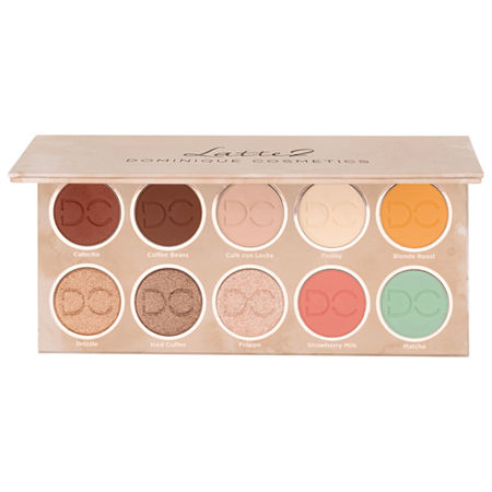 DOMINIQUE COSMETICS Latte 2 Eyeshadow Palette, One Size , Multiple Colors
