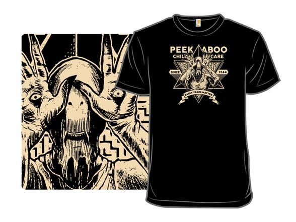 Peekaboo Child Care T Shirt