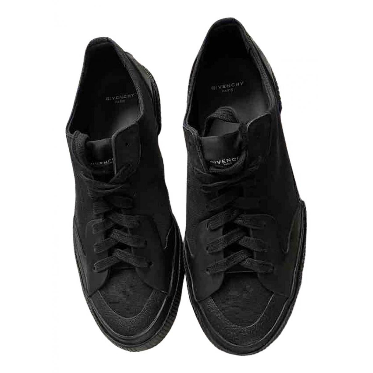 Givenchy - Baskets   pour homme en toile - noir
