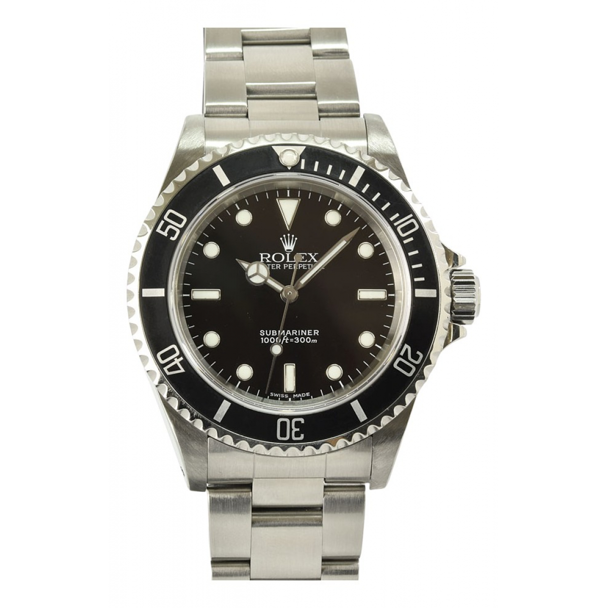 Rolex Submariner Uhr in  Schwarz Stahl