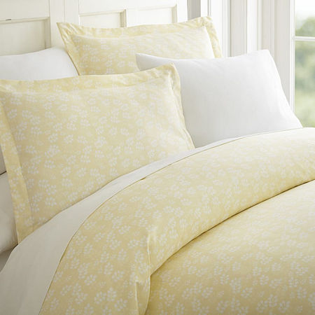 Ienjoy Home Casual Comfort Premium Ultra Soft Wheatfield Pattern Duvet Cover Set, One Size , Beige