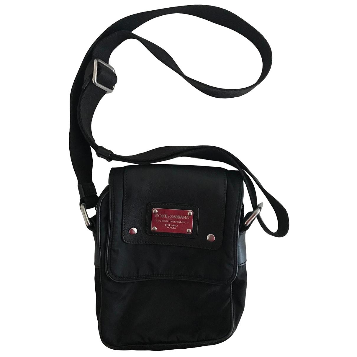 Dolce & Gabbana \N Black Cloth bag for Men \N