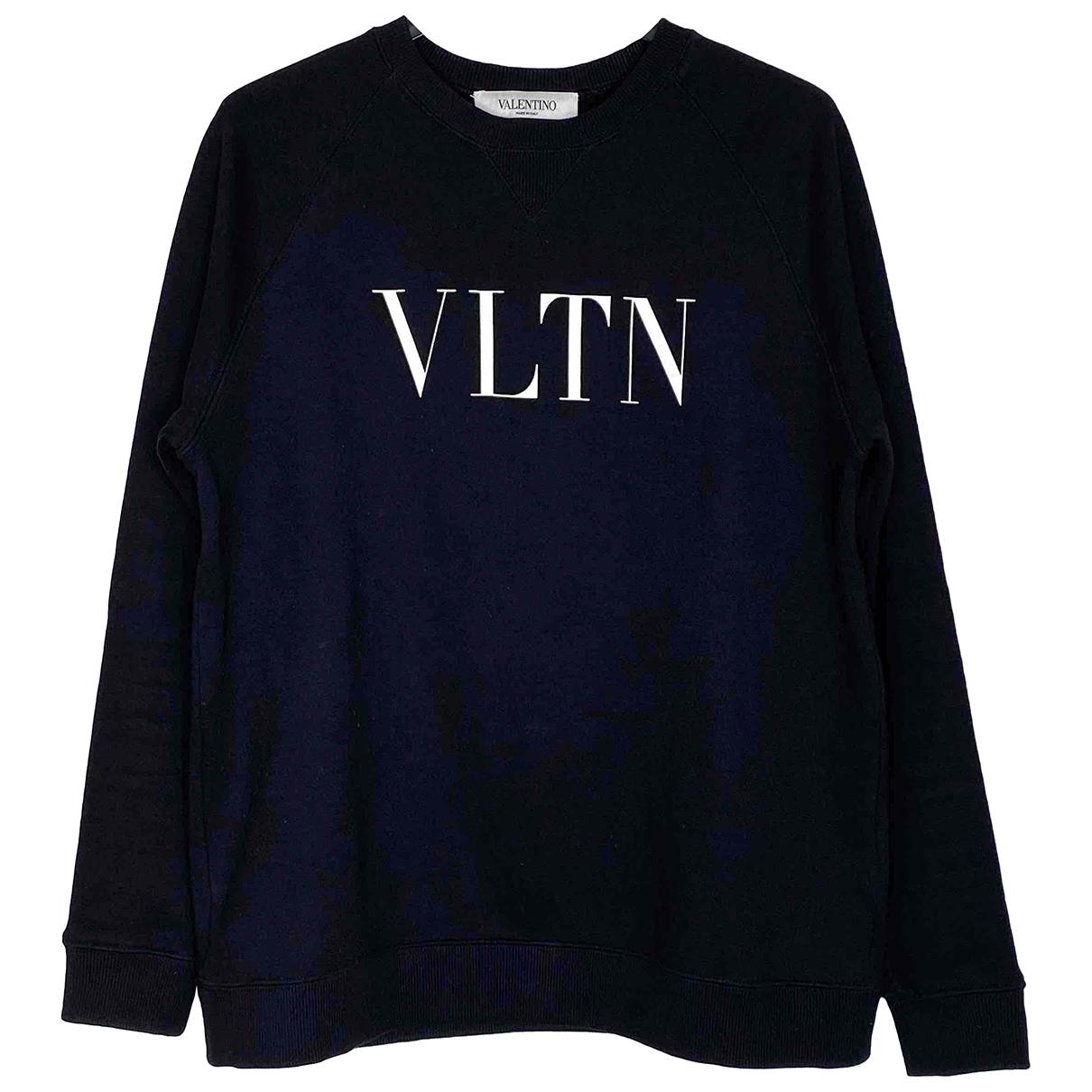 Valentino Garavani \N Black Cotton Knitwear for Women XS International