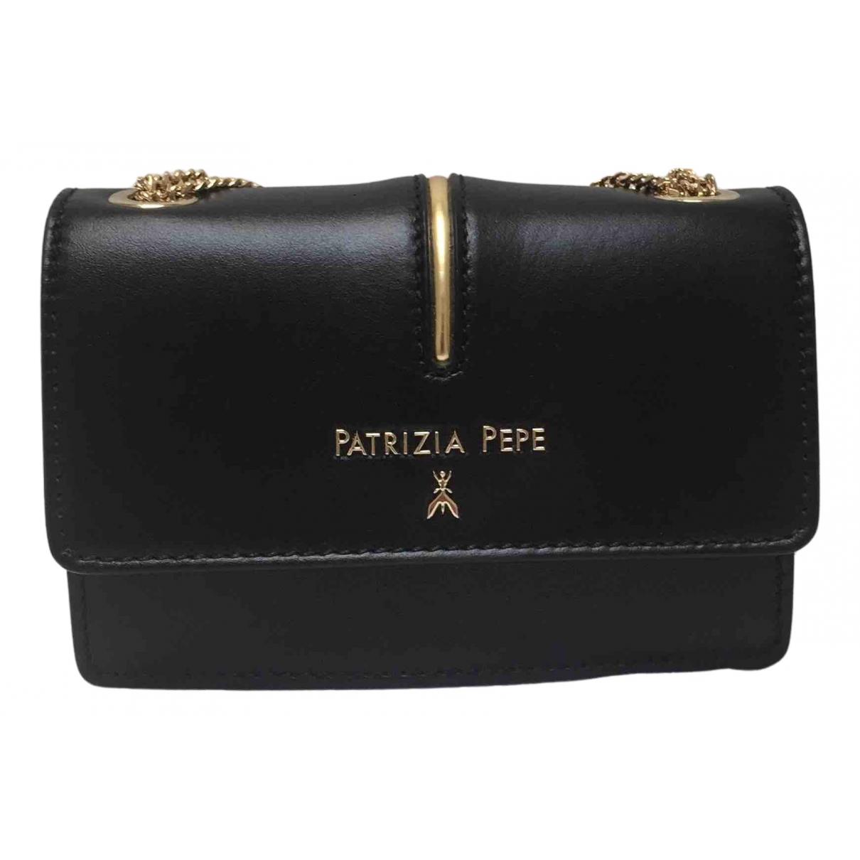 Patrizia Pepe - Sac a main   pour femme en cuir - noir