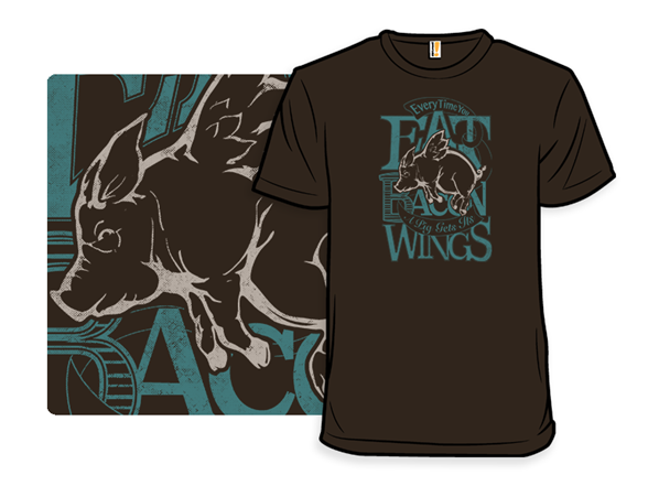 Bacon Wings T Shirt
