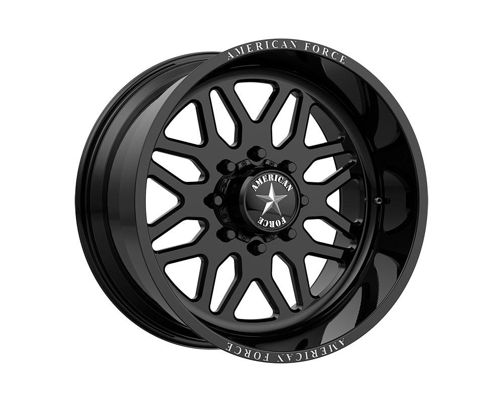 American Force AFTGB02D22-2-20 AFW B02 Trax SS Wheel 22.00x10.00 8x165.10 -25mm Gloss Black