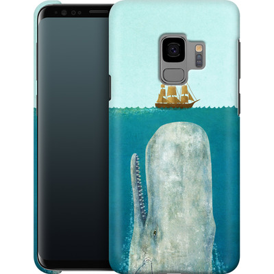 Samsung Galaxy S9 Smartphone Huelle - The Whale von Terry Fan