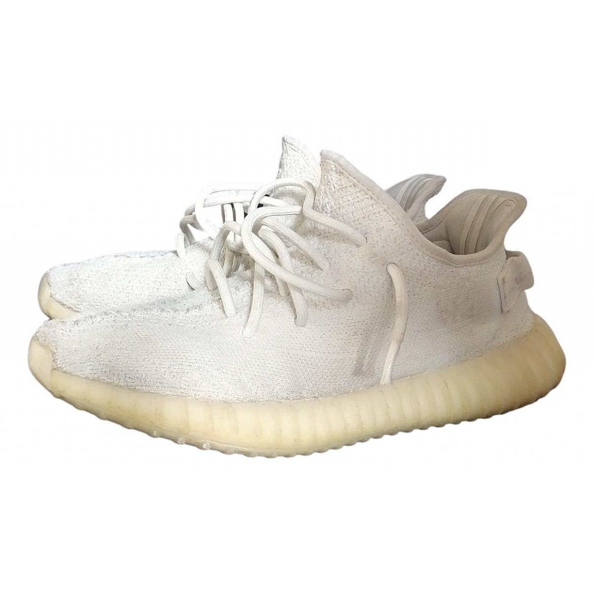 Yeezy X Adidas - Baskets Boost 350 V2 pour homme en toile - blanc