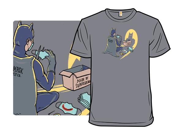 Bat-mask Supplier T Shirt