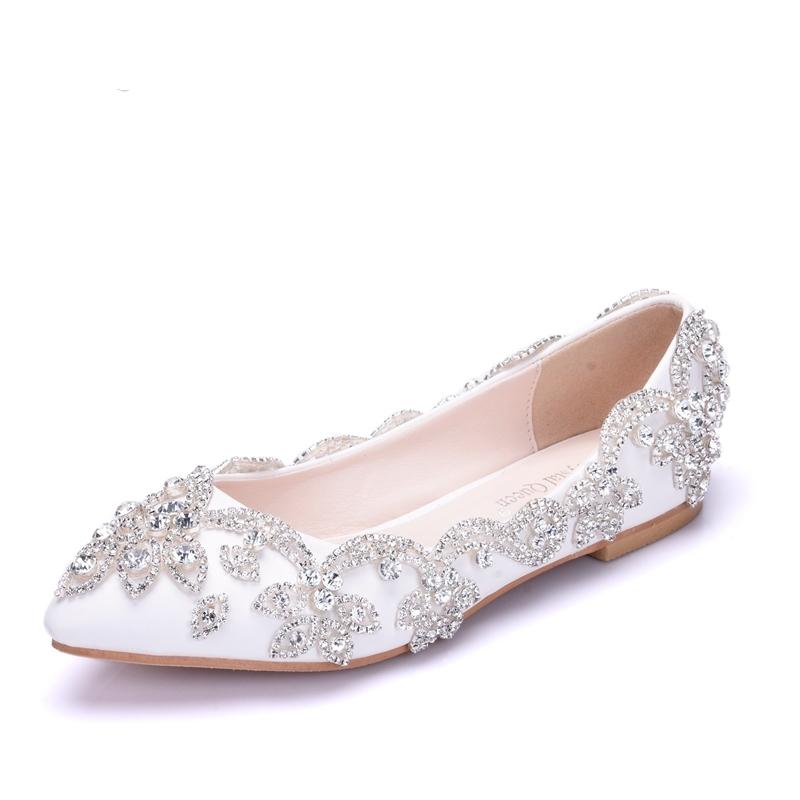 Ericdress Chic Rhinestone Plain Wedding Shoes