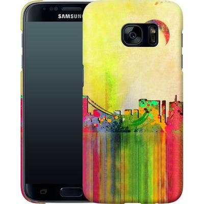 Samsung Galaxy S7 Smartphone Huelle - San Francisco Skyline von Mark Ashkenazi