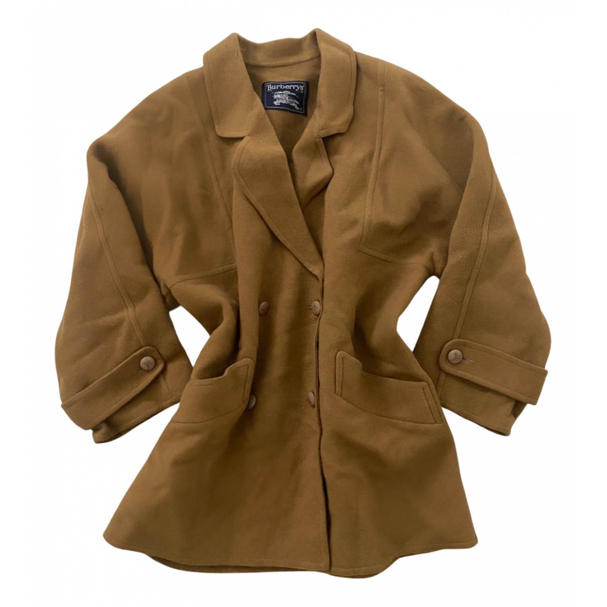 Burberry N Beige Wool coat for Women 44 FR