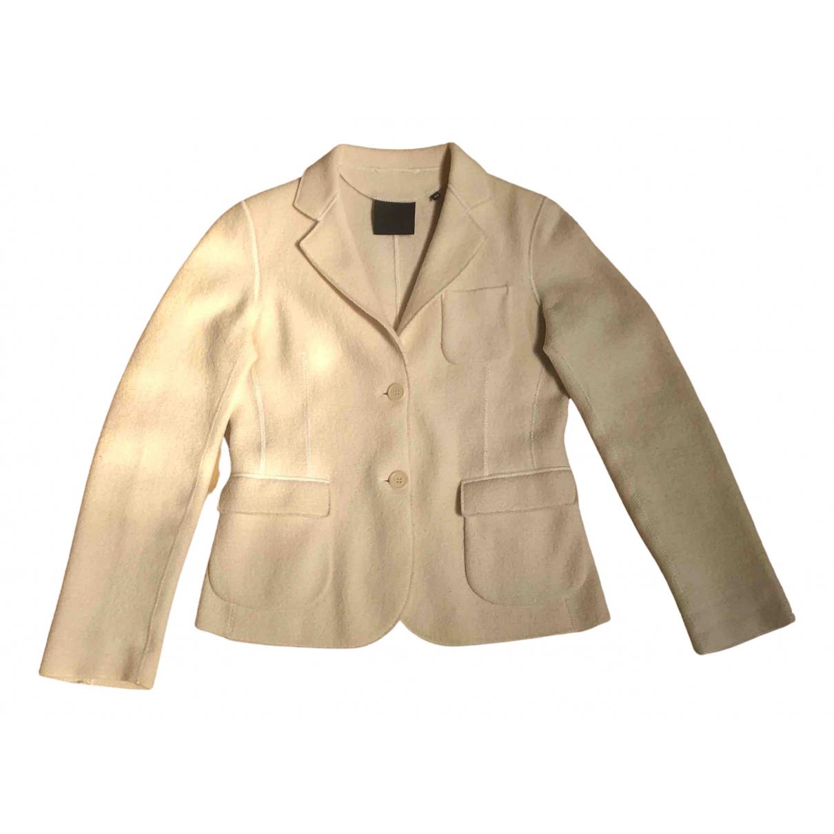 Aspesi - Veste   pour femme en laine - beige