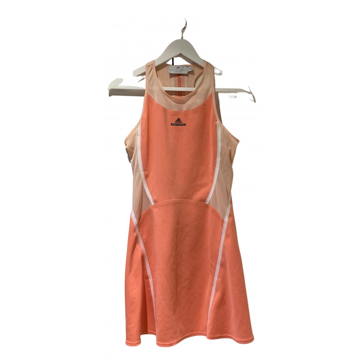 Adidas \N Kleid in  Rosa Baumwolle - Elasthan