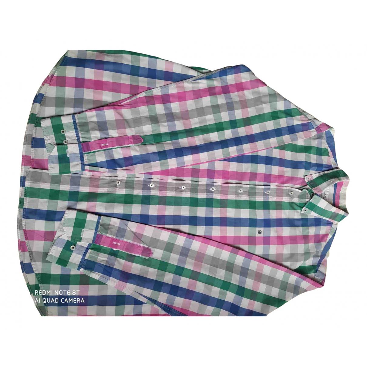 Carolina Herrera - Chemises   pour homme en coton - multicolore