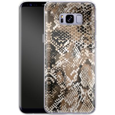 Samsung Galaxy S8 Plus Silikon Handyhuelle - Snakeskin von caseable Designs