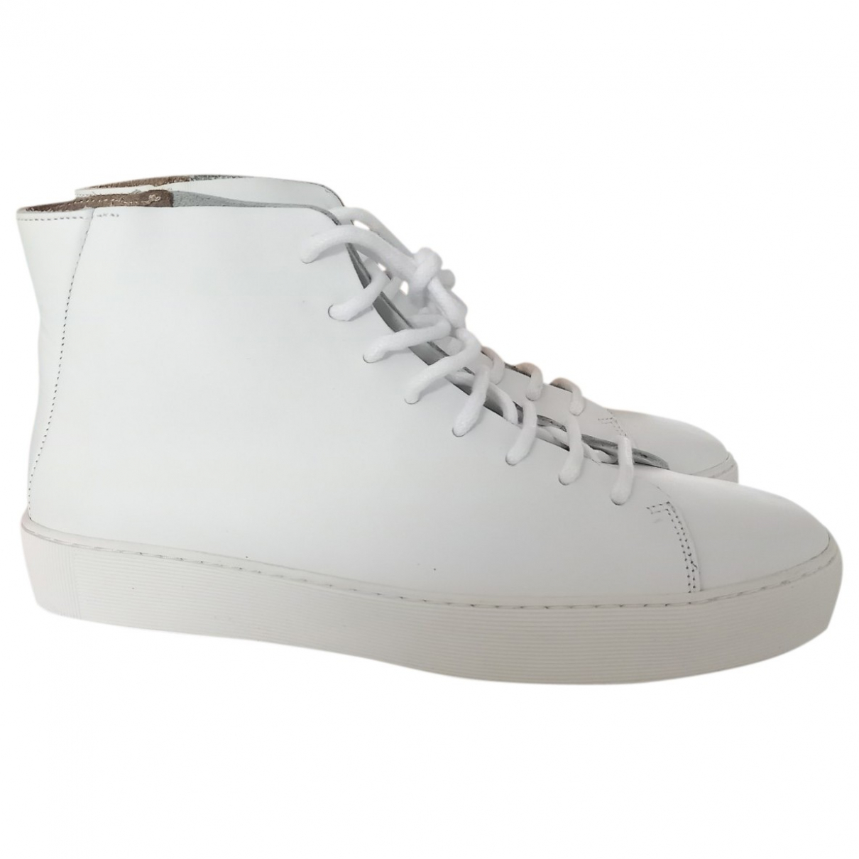Royal Republiq \N Sneakers in  Weiss Leder