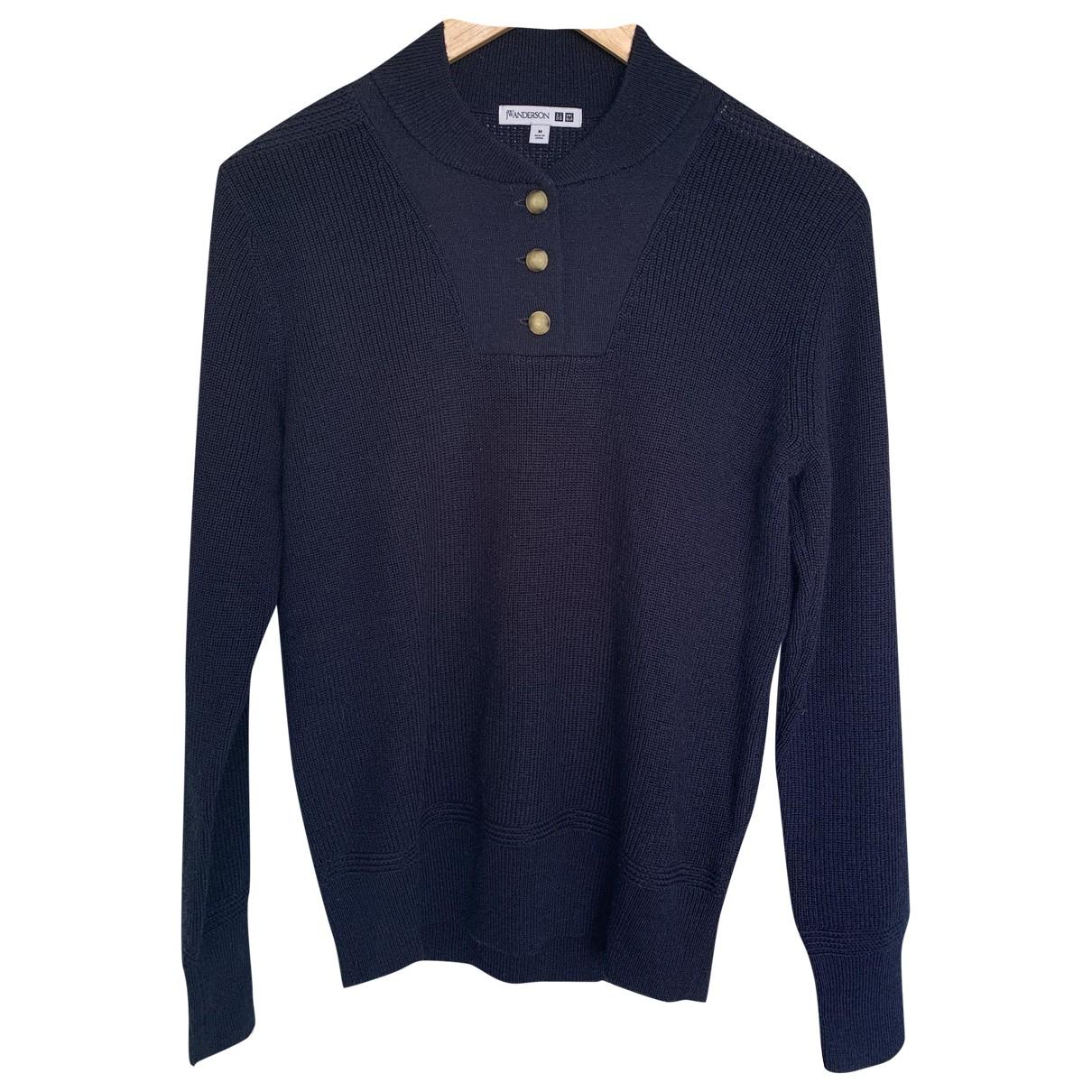 Uniqlo \N Blue Wool Knitwear for Women M International