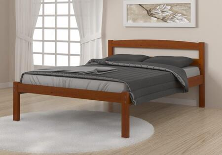 575FE Full Econo Bed With Full Slats  Mattress Ready and Wood Construction in