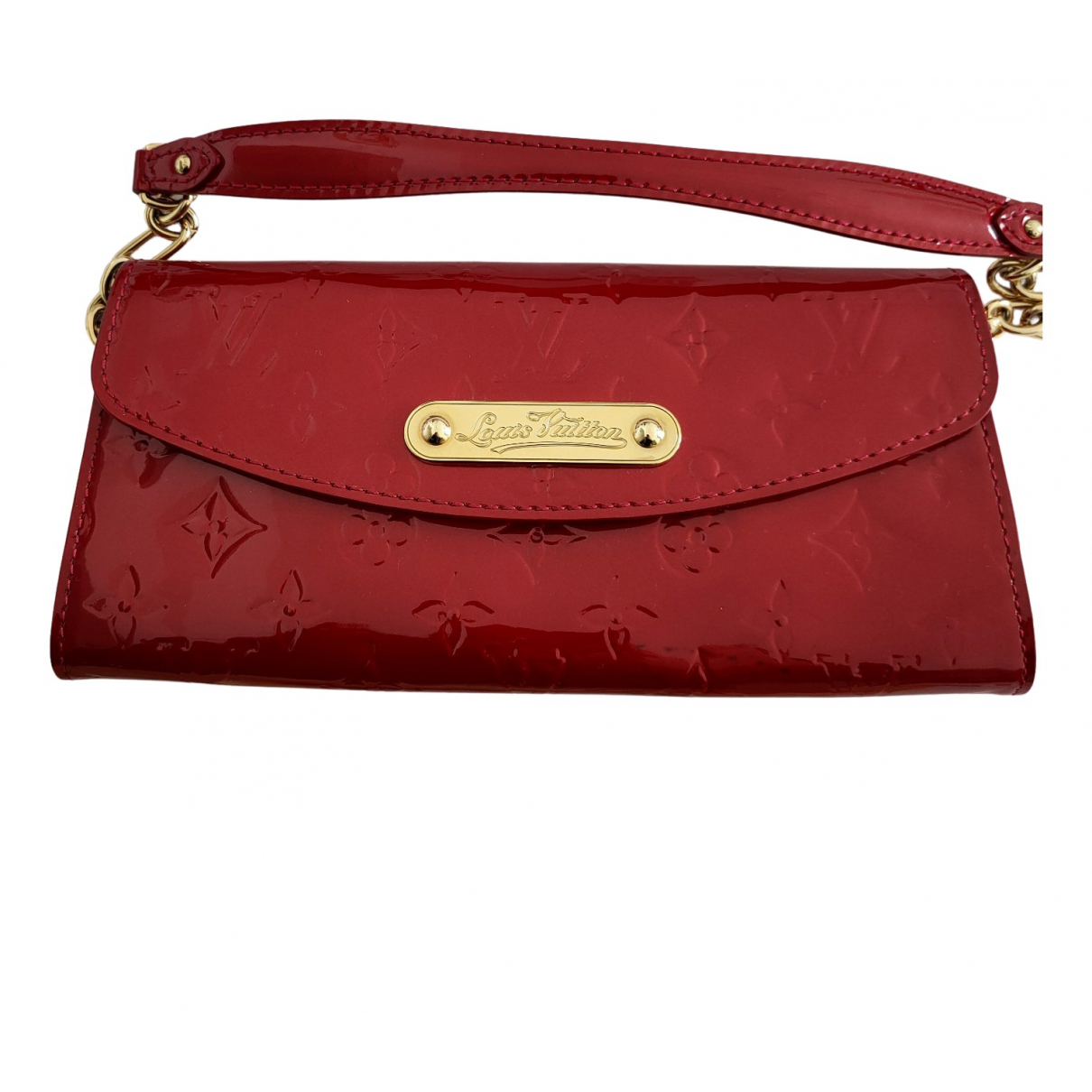 Louis Vuitton N Red Patent leather Clutch bag for Women N