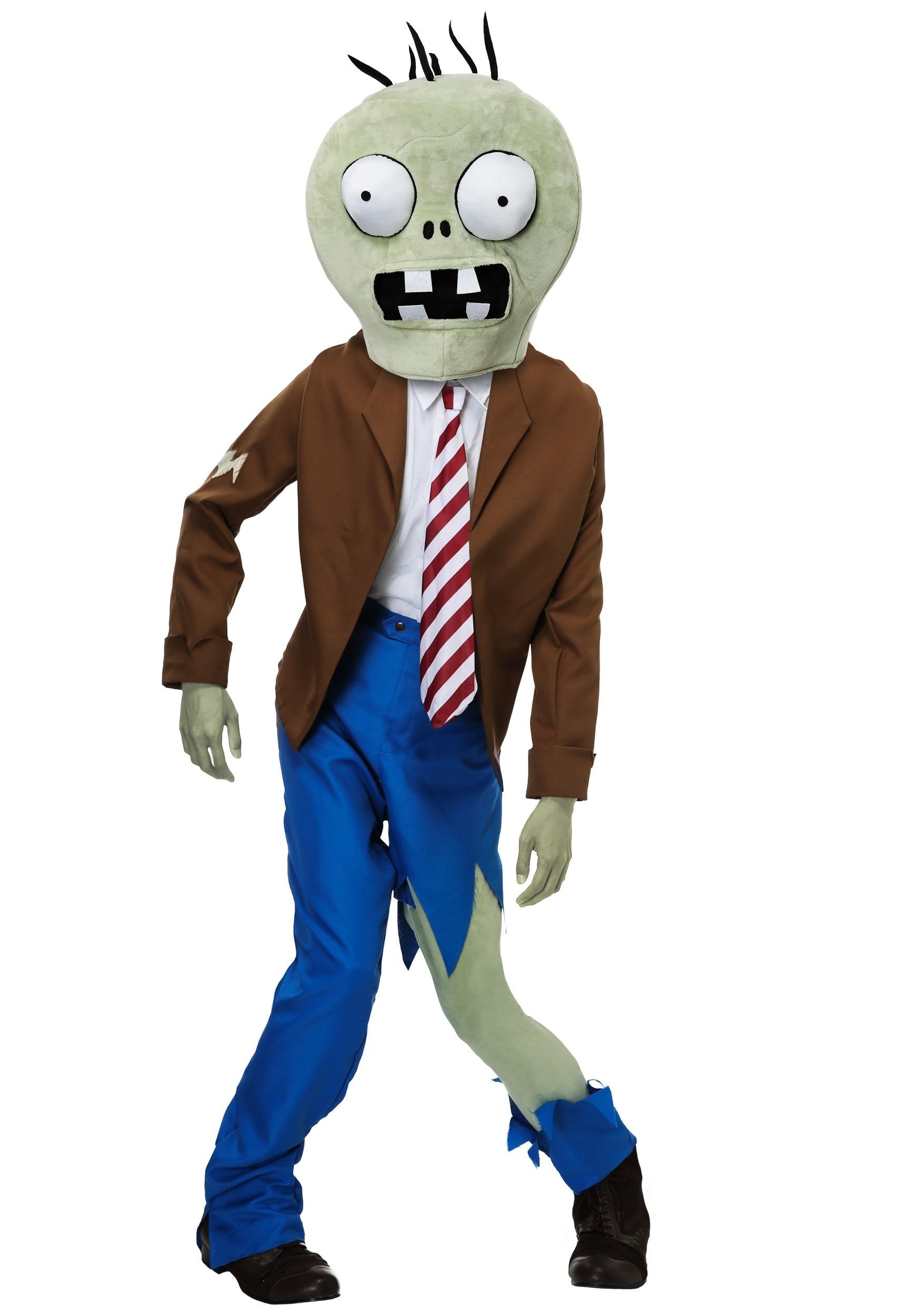 PLANTS VS ZOMBIES Zombie Adult's Costume