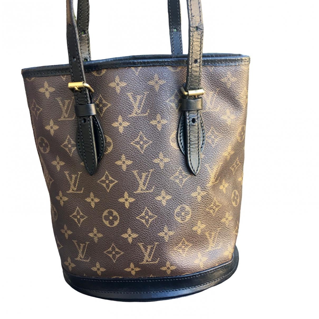 Bolso  Bucket  de Lona Louis Vuitton