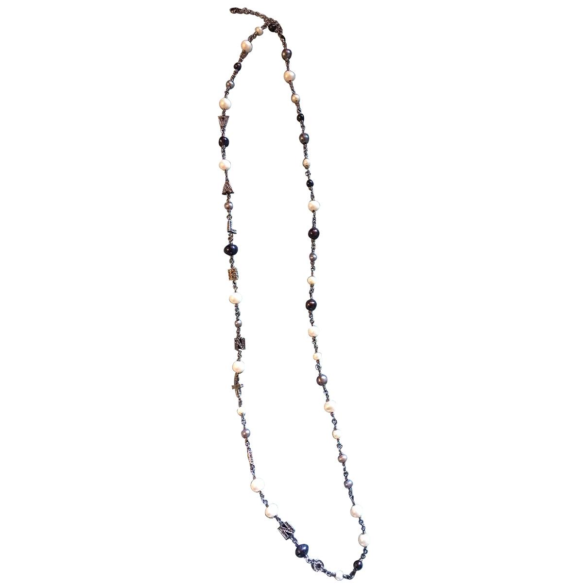 Valentino Garavani \N Halskette in  Bunt Perlen
