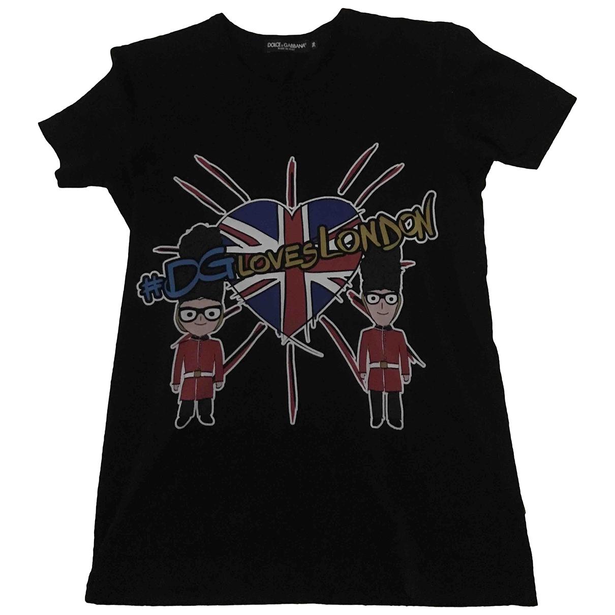 Dolce & Gabbana \N Black Cotton  top for Women 36 IT