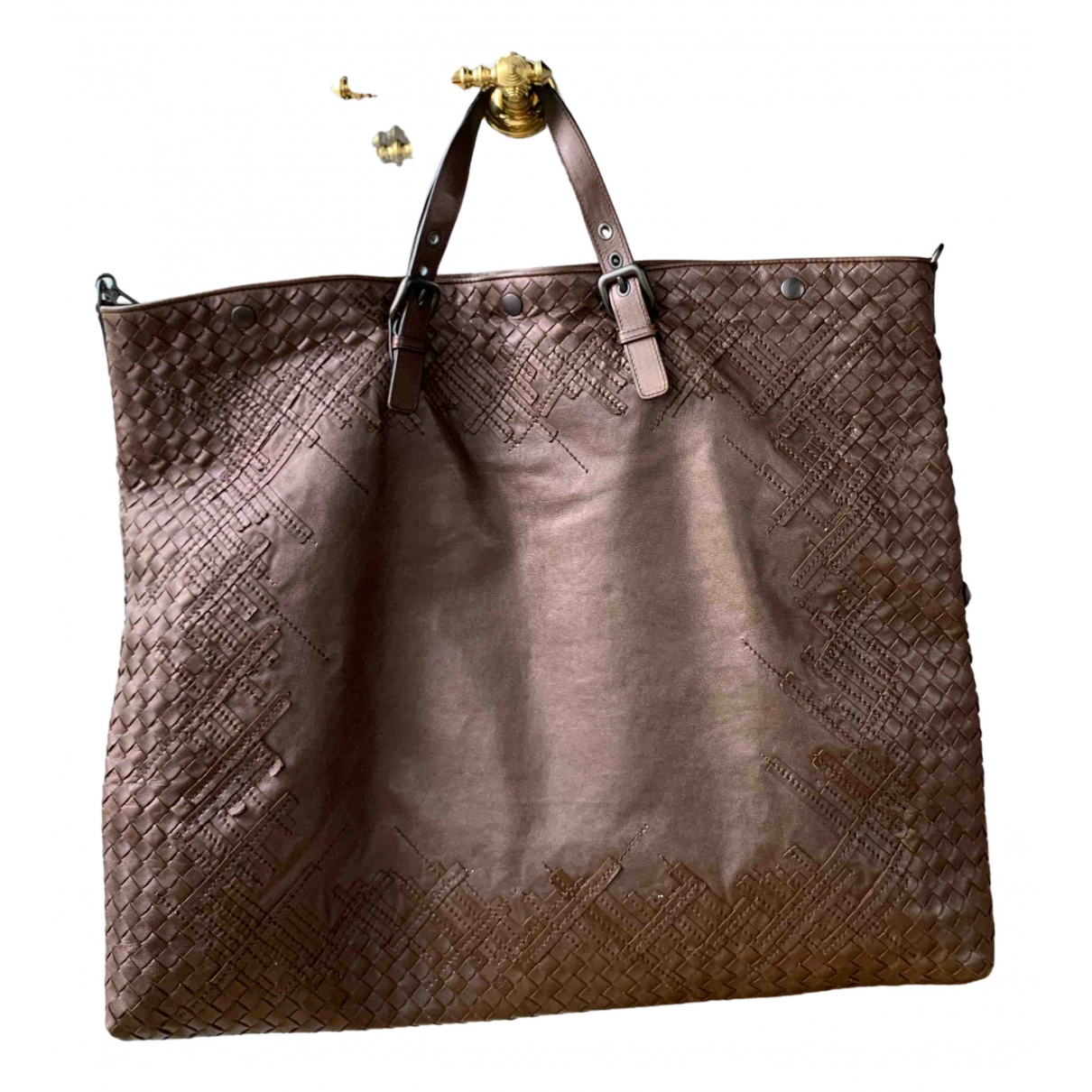 Bottega Veneta N Brown Leather handbag for Women N