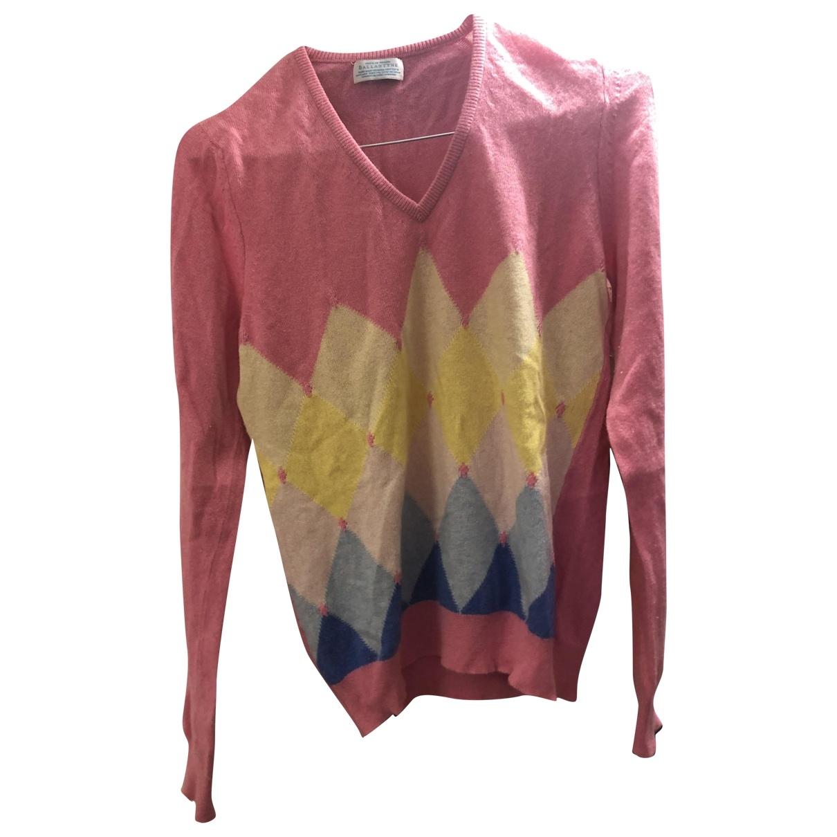 Ballantyne \N Pullover in  Rosa Kaschmir