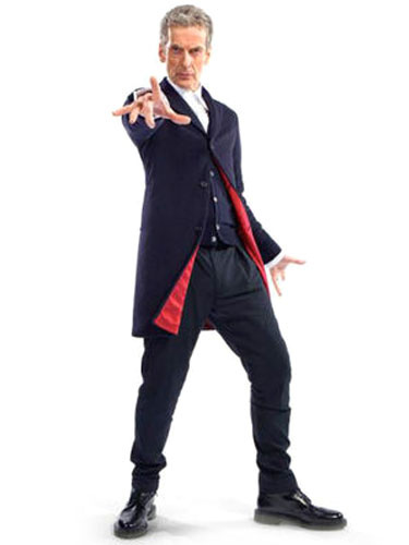 Milanoo Doctor Who Peter Capaldi Halloween Cosplay Suit Costume Halloween
