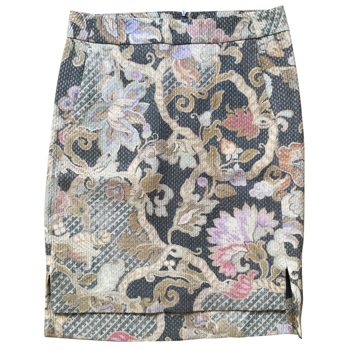 Dries Van Noten - Jupe   pour femme en laine - multicolore