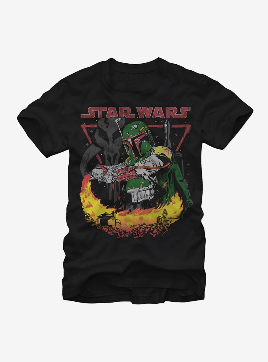 Star Wars Boba Fett Tatooine T-Shirt