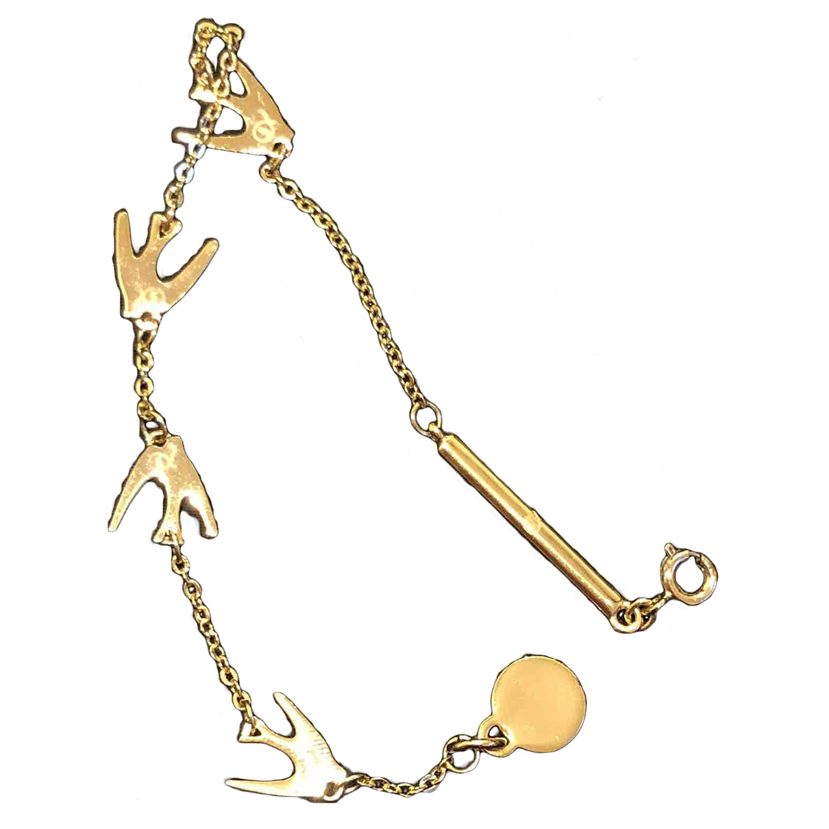 Mcq \N Armband in  Gold Metall