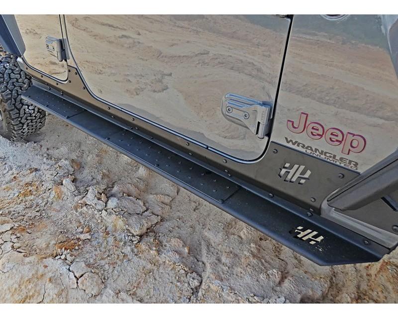 Hammerhead Armor 600-56-0762 Jeep JL Body Mount Rock Rails 18-Pres Wrangler JL 4 Door