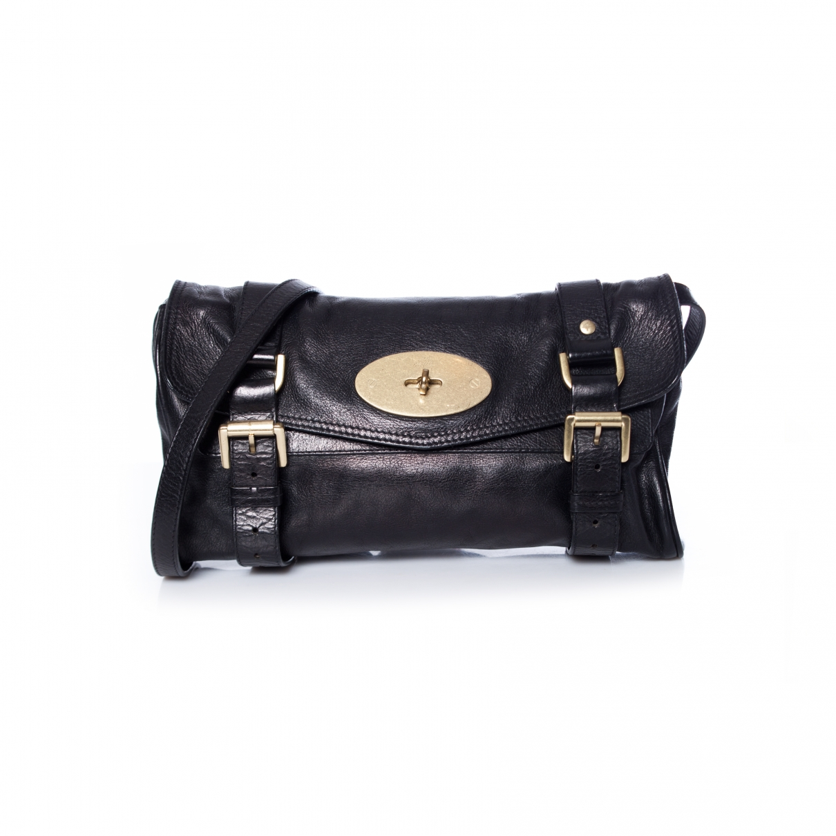 Mulberry Alexa Black Leather handbag for Women \N