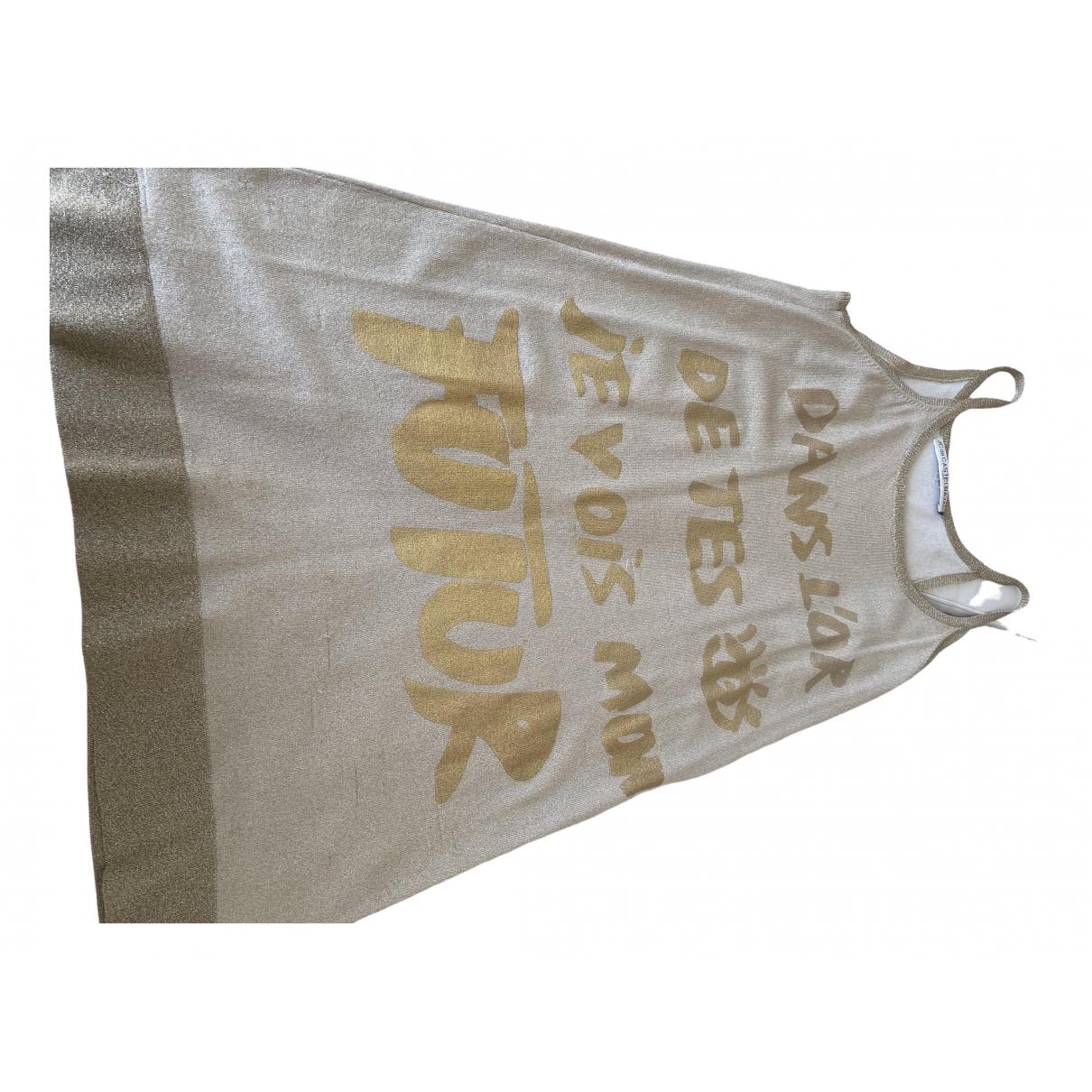 Jc De Castelbajac \N Gold dress for Women 42 FR