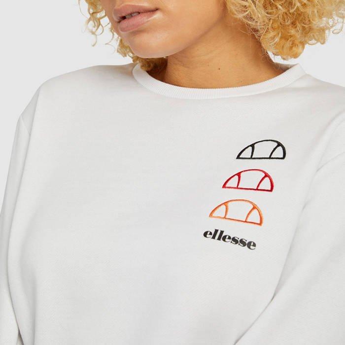 Ellesse Glenato Sweatshirt SGG09815 WHITE