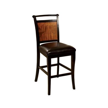 BM131173 Salida II Counter Height Chair  Black & Antique Oak   Set Of