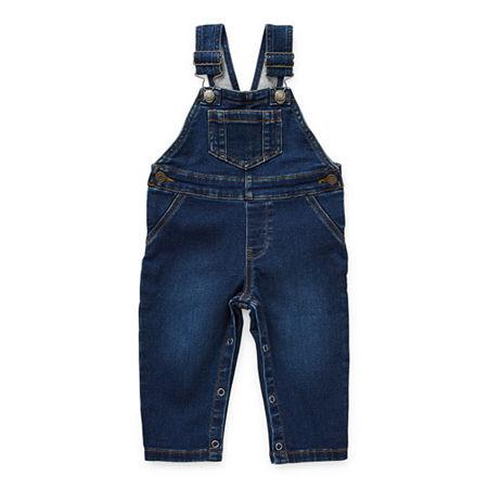 Okie Dokie Baby Boys Overalls, 6 Months , Blue