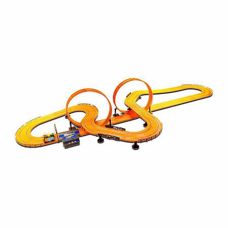 Hot Wheels Electric 30 ft. Slot Track, One Size , Orange