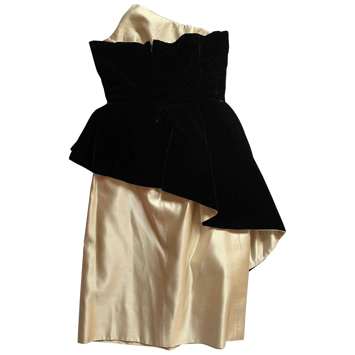 Vestido de Terciopelo Lanvin