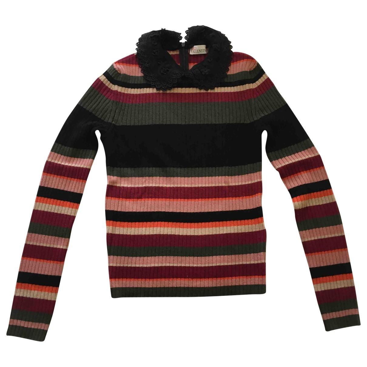 Red Valentino Garavani \N Pullover in  Bunt Wolle